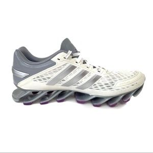 Adidas Springblade Razor Running Shoe White Gray